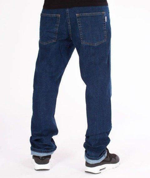 SmokeStory-Classic Slim Jeans Spodnie Medium Blue