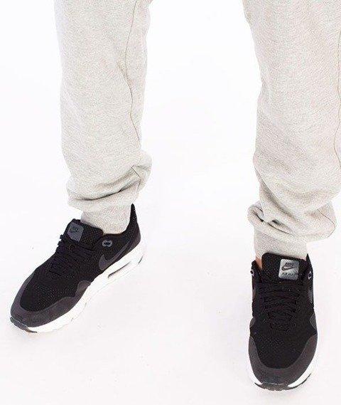 SmokeStory-Classic Slim Spodnie Dresowe Szare
