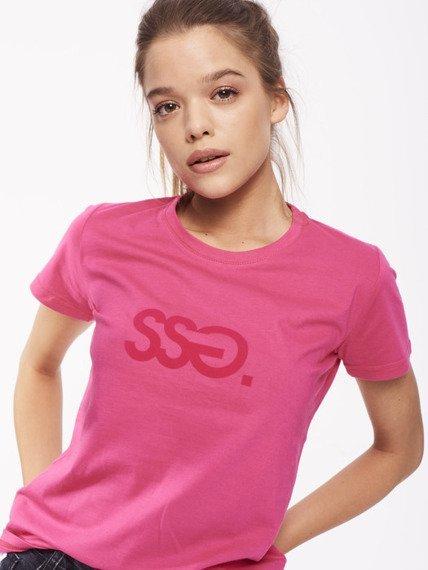 SmokeStory-Classic T-shirt Damski Różowy
