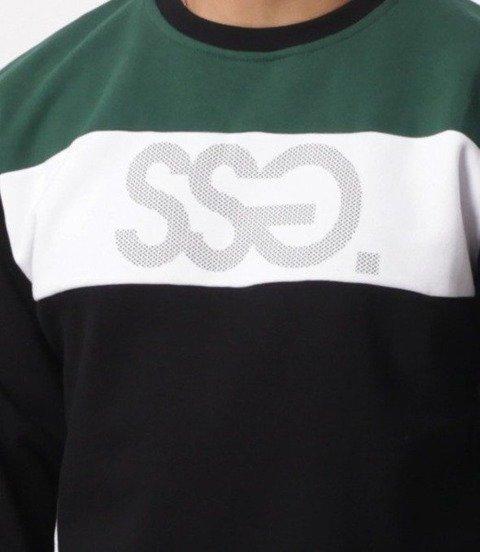 SmokeStory-Colors Bluza Czarny/Zielony
