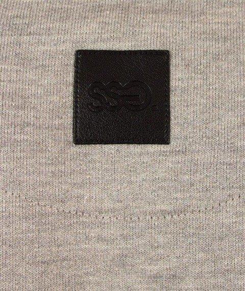 SmokeStory-Cut Bottom Bluza Jasny Melanż