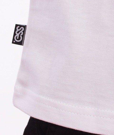 SmokeStory-Damage SSG T-Shirt Biały