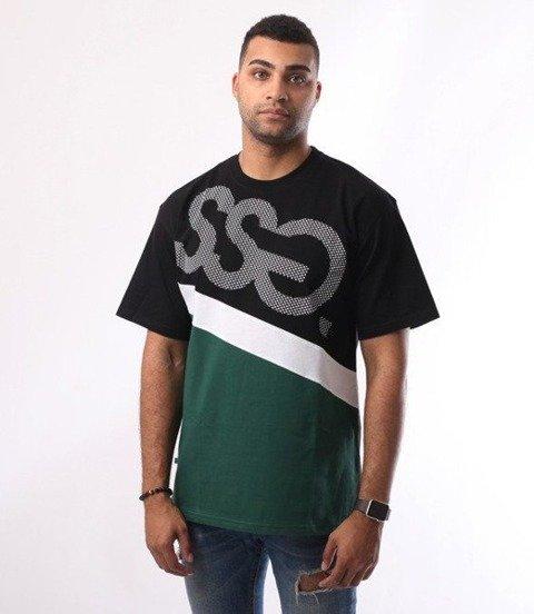 SmokeStory-Dots Triple T-Shirt Czarny Zieleń