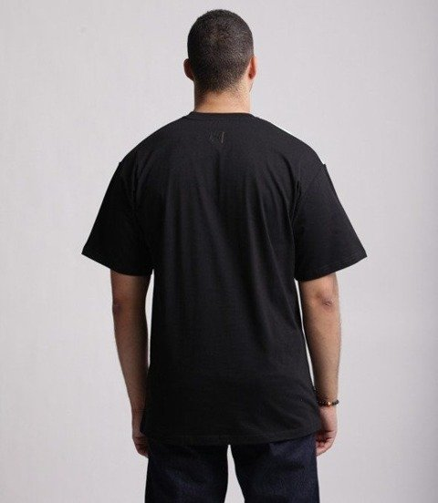 SmokeStory-Double Half T-Shirt Czarny