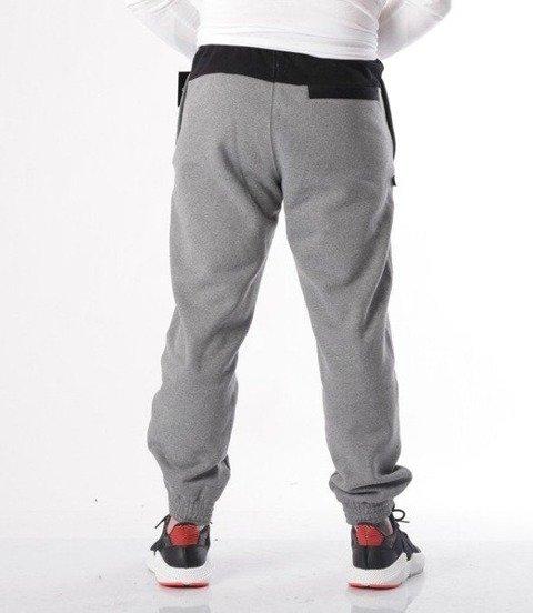 SmokeStory-Double back Spodnie Jogger Szare