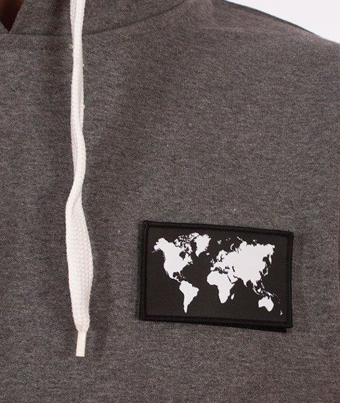 SmokeStory-Flag Bluza z Kapturem Grafitowa