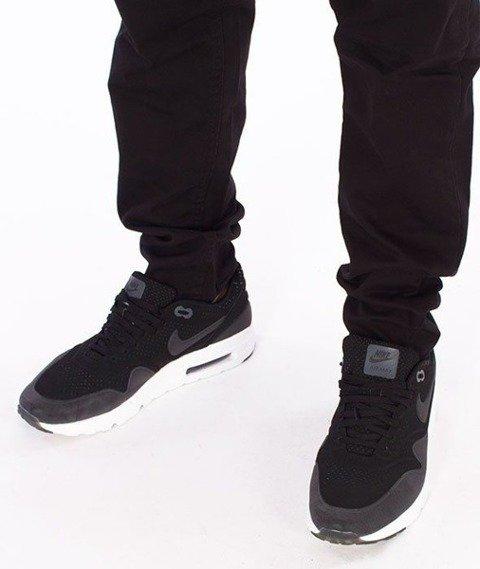SmokeStory-Jeans Stretch Skinny Guma Spodnie Czarne