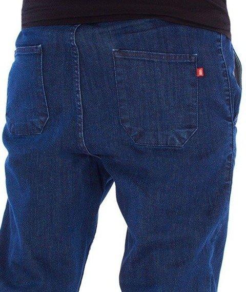 SmokeStory-Jeans Stretch Straight Fit Guma Spodnie Jeans Medium