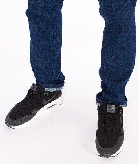 SmokeStory-Jeans Stretch Straight Fit Guzik Spodnie Medium