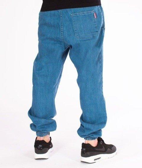 SmokeStory-Jogger Jeans Regular Guma Light Blue