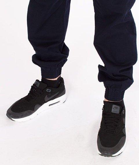 SmokeStory-Jogger Regular Classic Spodnie Granatowe