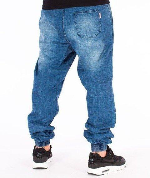 SmokeStory-Jogger Regular Guma Spodnie Mocno Przecierane