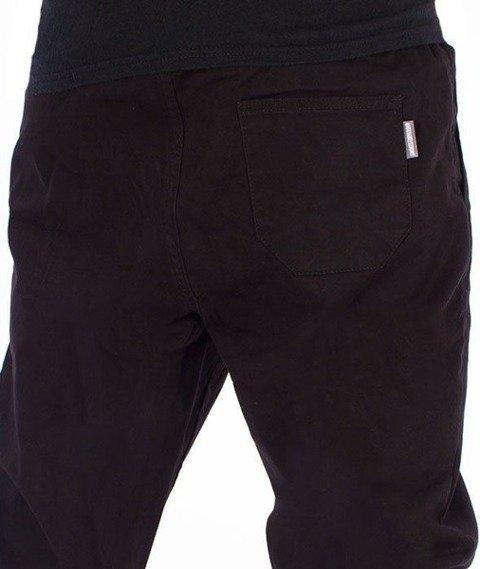 SmokeStory-Jogger Slim Spodnie Czarne