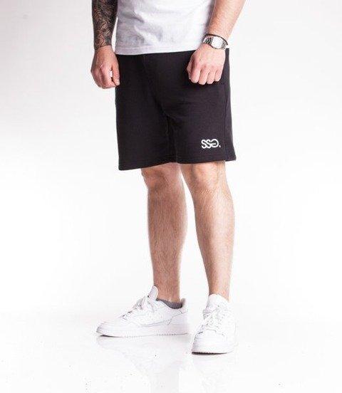 SmokeStory-Light Classic SSG Krótkie Spodnie Bawełniane Czarne