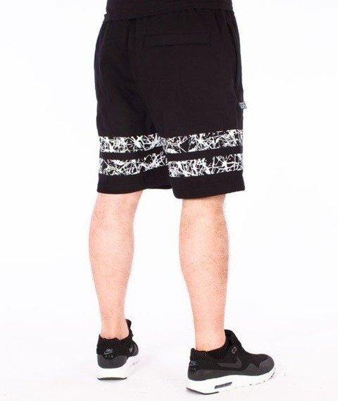 SmokeStory-Lines Krótkie Spodnie Dresowe Czarne