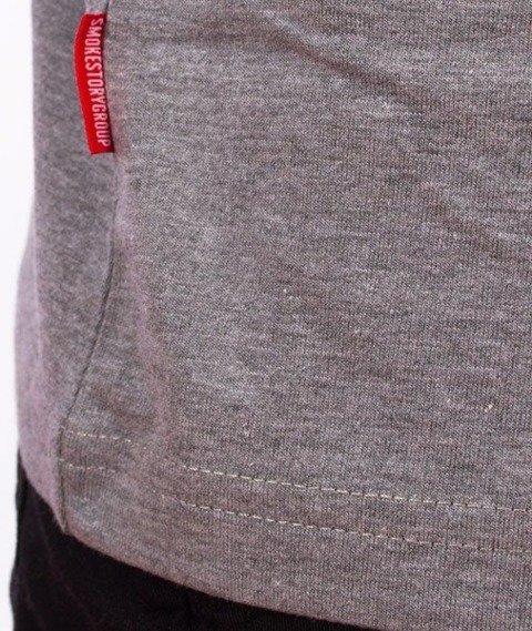 SmokeStory-Lines SSG T-Shirt Szary