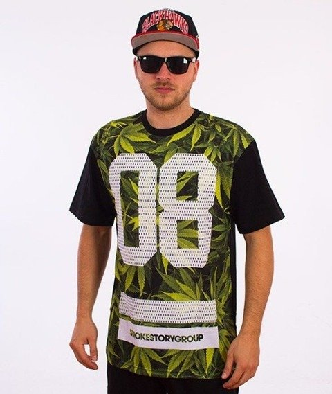 SmokeStory-Mary Color T-Shirt Zielony