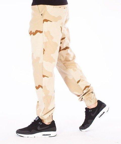 SmokeStory-Moro Jogger Regular Spodnie Pustynna Burza