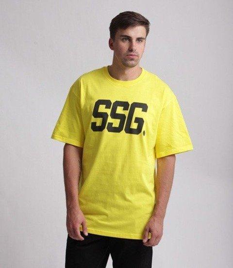SmokeStory-New SSG T-Shirt Żółty