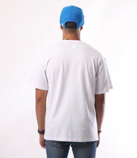 SmokeStory-Outline Colors T-Shirt Biały