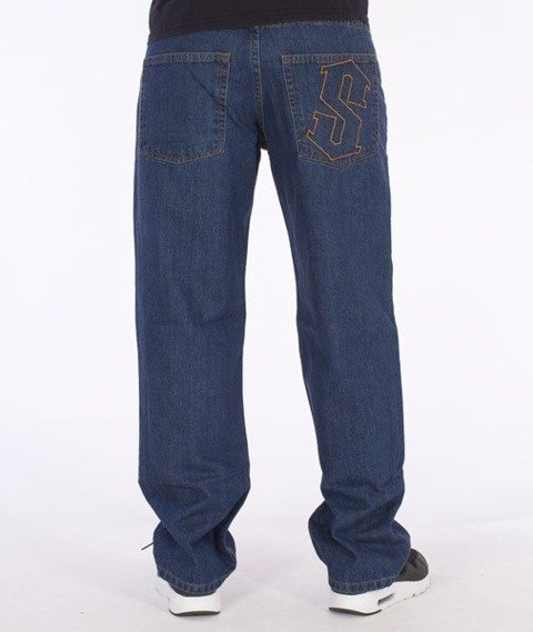 SmokeStory-Outline Regular Jeans Medium Blue