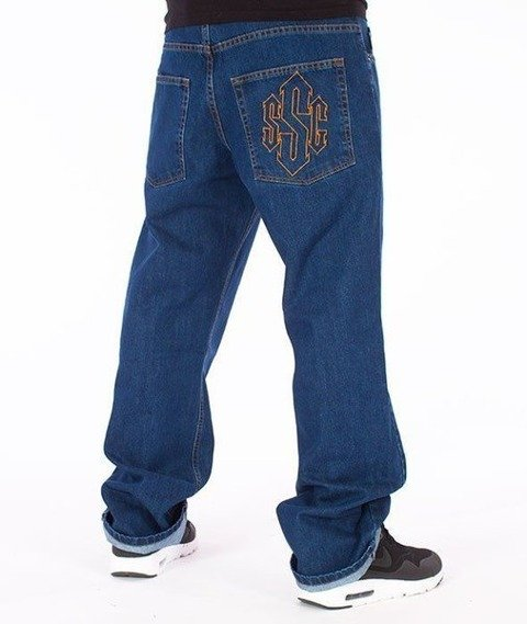 SmokeStory-Outline SSG Regular Jeans Medium Blue