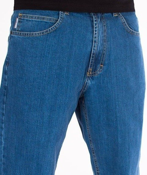 SmokeStory-Outline SSG Regular Jeans Spodnie Light Blue