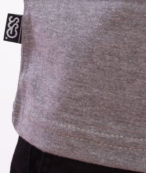 SmokeStory-Paint Tag T-Shirt Szary