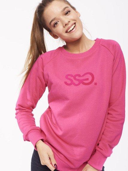 SmokeStory-Reglan Classic Colors Bluza Damska Różowa