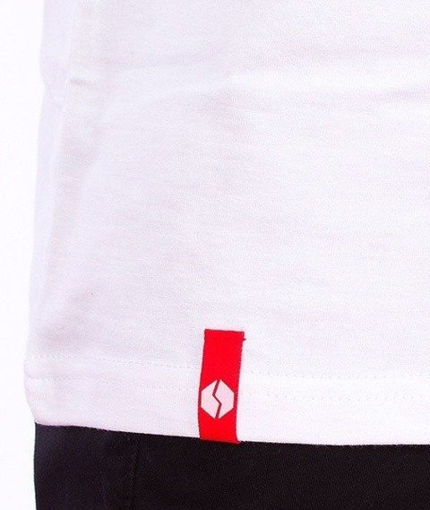 SmokeStory-SMG Tag T-Shirt Biały