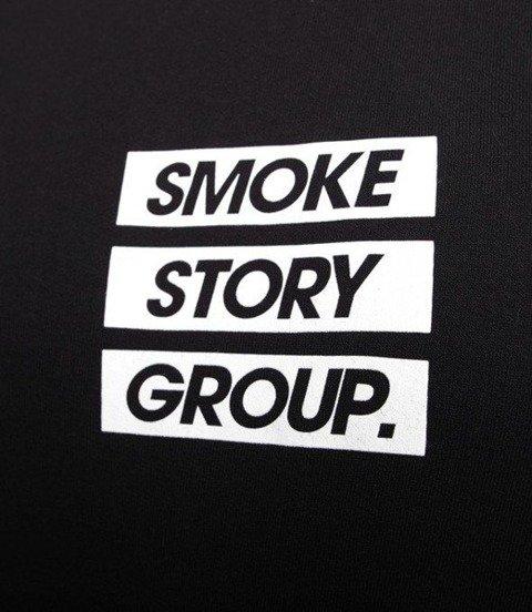 SmokeStory-SMG Three lines Crewneck Bluza Czarna
