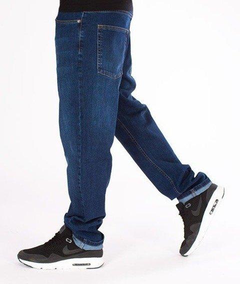 SmokeStory-SSG Big Outline Slim Jeans Wycierane