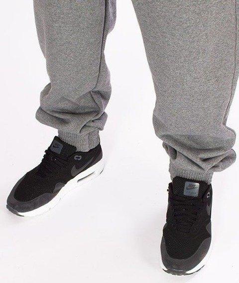 SmokeStory-SSG Classic Jogger Spodnie Dresowe Ciemny Melanż