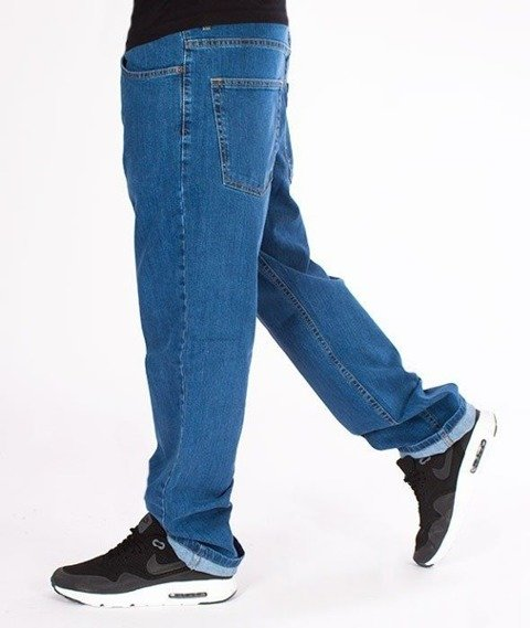SmokeStory- SSG Classic Regular Jeans Spodnie Light Blue