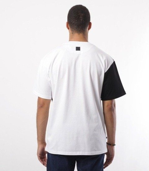 SmokeStory-SSG Cross Belt T-Shirt Biały