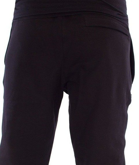 SmokeStory-SSG New Jogger Spodnie Dresowe Czarne