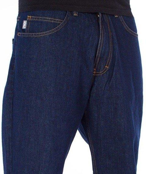 SmokeStory-SSG Tag Regular Jeans Spodnie Dark Blue