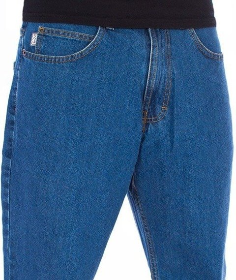 SmokeStory-SSG Tag Regular Jeans Spodnie Light Blue