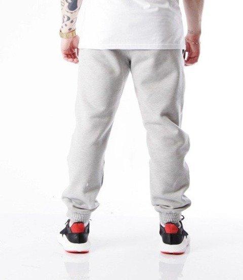 SmokeStory-Small Spodnie Jogger Jasny Szary