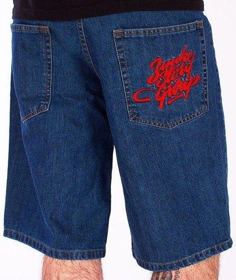 SmokeStory-Smoke Tag Krótkie Spodnie Medium Blue