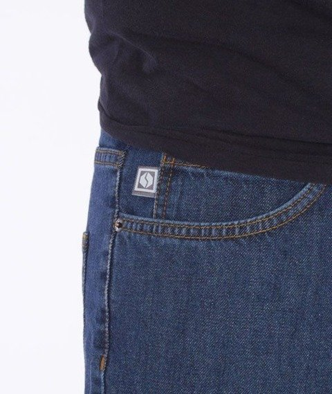 SmokeStory-SmokeStory Regular Jeans Medium Blue