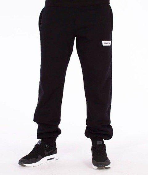 SmokeStory-Smokestory Regular Spodnie Dresowe Czarne