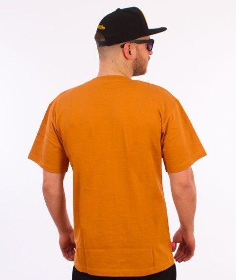SmokeStory-Street Colors Logo T-Shirt Ceglasty