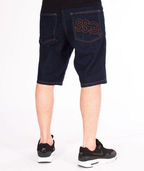 SmokeStory-Szorty Jeans Outline SSG Dark