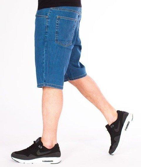 SmokeStory-Szorty Jeans SSG Classic Light