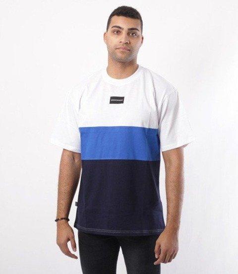 SmokeStory-Three Colors T-Shirt Biały/Chaber