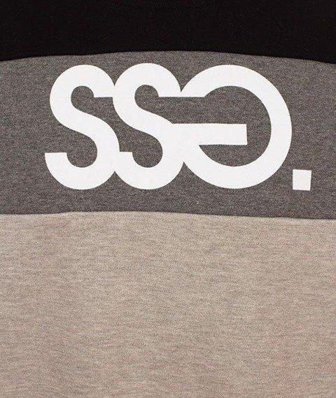 SmokeStory-Triple Colors SSG Klasyk Bluza Czarna Góra