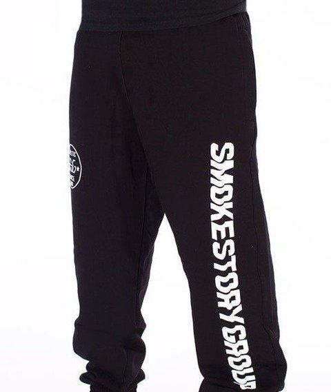 SmokeStory-Vertical SMG Jogger Spodnie Dresowe Czarne