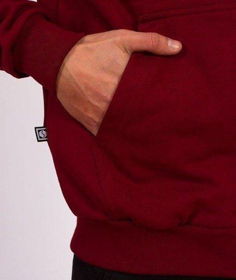 SmokeStory-Zip SSG Classic Bluza Zip Bordo