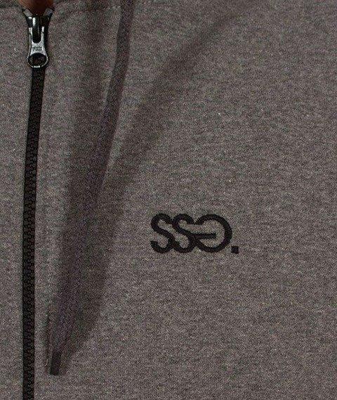 SmokeStory-Zip SSG Classic Bluza Zip Ciemny Melanż